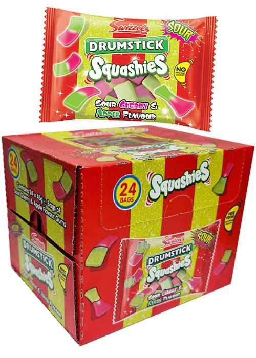 Squashies Cherry/Apple 45g x 24 st