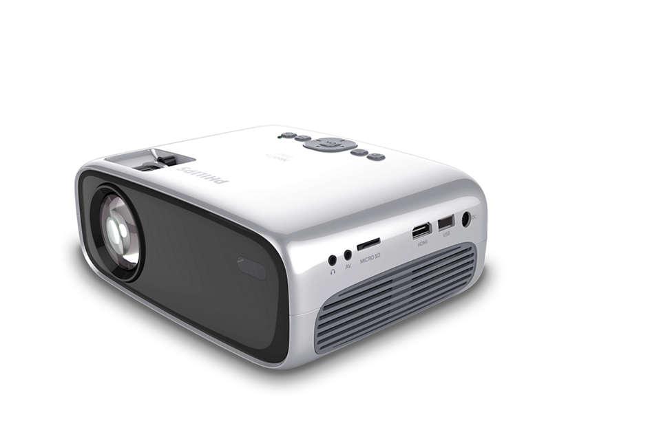 Philips - NeoPix Easy NPX440/INT - Home Projector