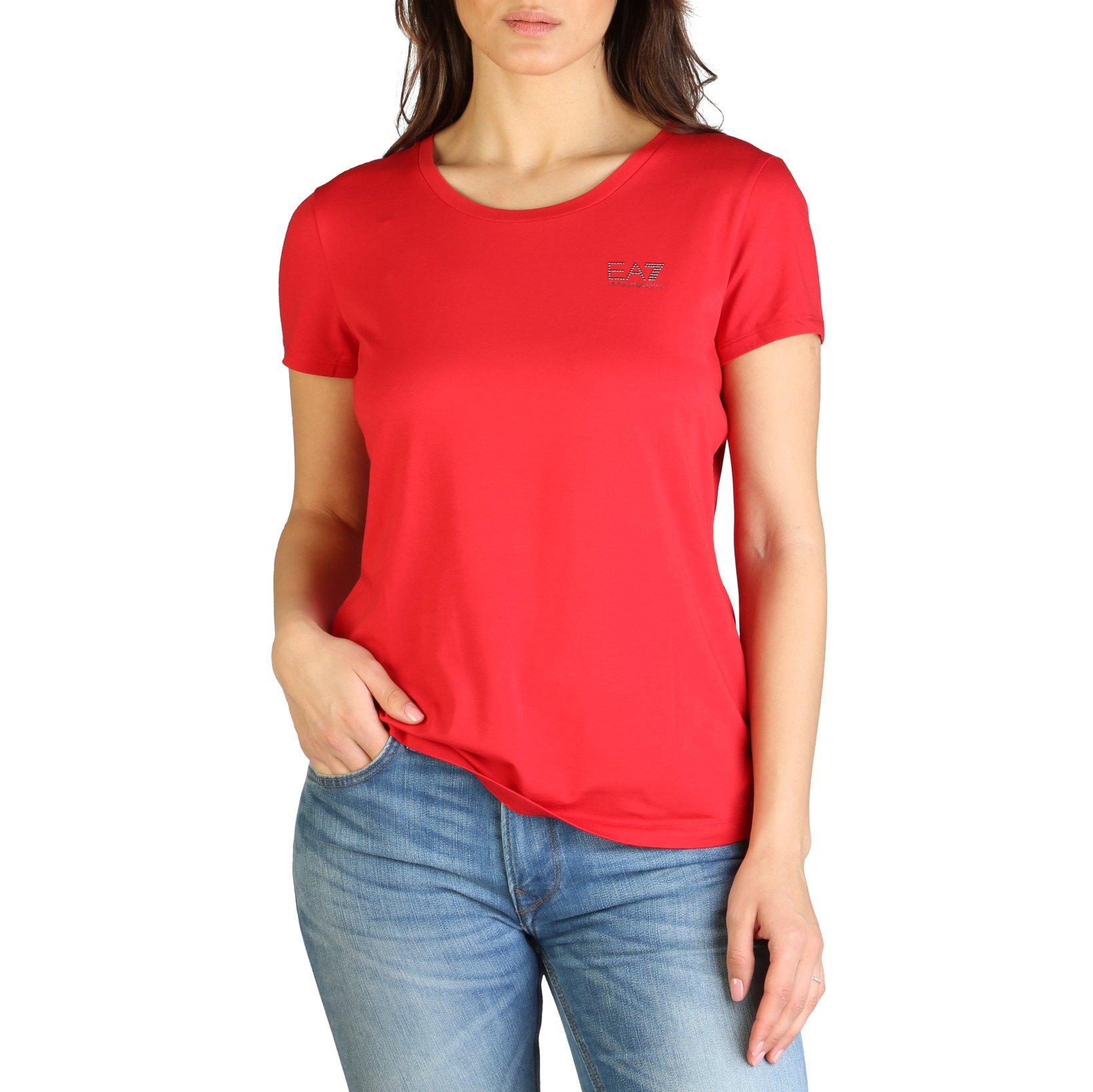 EA7 Women's T-Shirt Various Colours 7VTT01_TJ4FZ - red XL