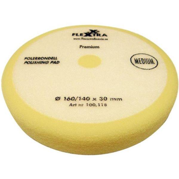 Flexxtra 100118 Polerrondell middels hard, 160 mm