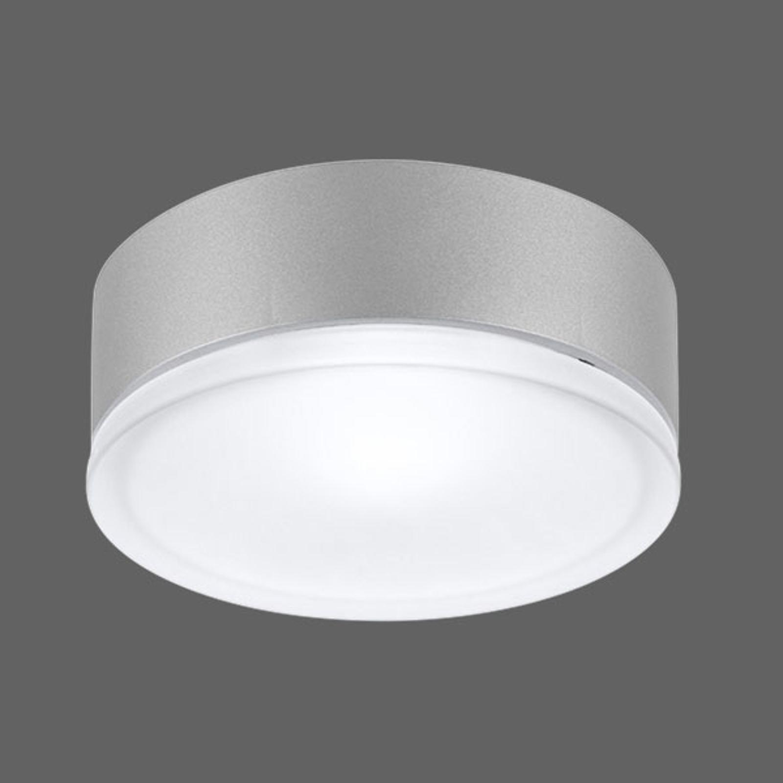 Drop 28 LED -ulkokattovalaisin harmaa, 3 000 K