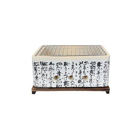 Hibachi Rektangulær japansk bordgrill