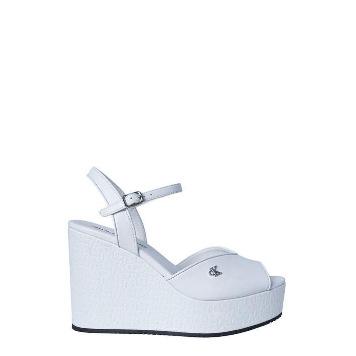 Calvin Klein Jeans Women's Sandal White 190838 - white 40