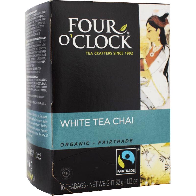 Vitt Chai Te, Eko Fairtrade 16p - 38% rabatt