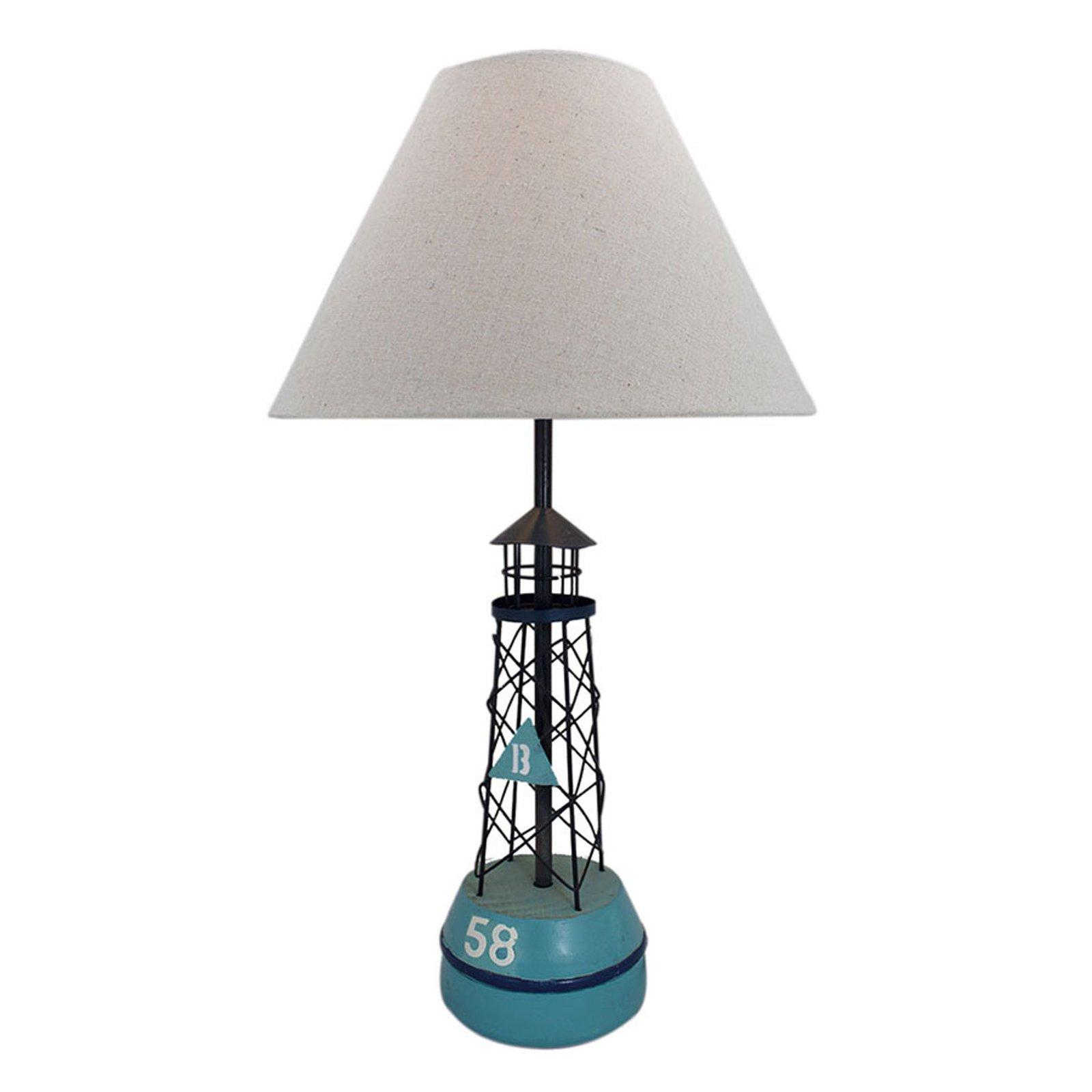 Bordlampe 5761 Boe med tekstilskjerm