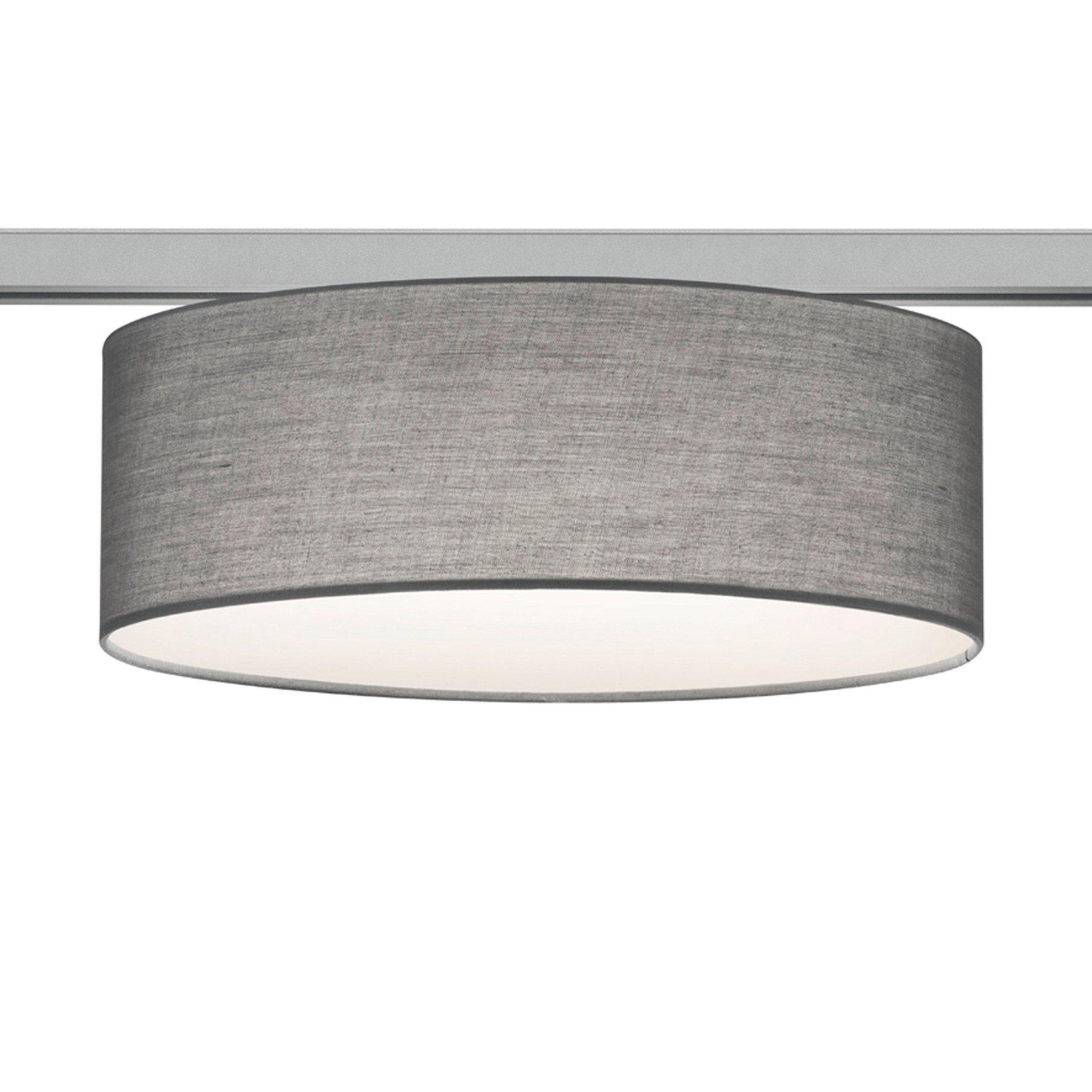 2-faset taklampe DUOline 763902 2xE27, grå