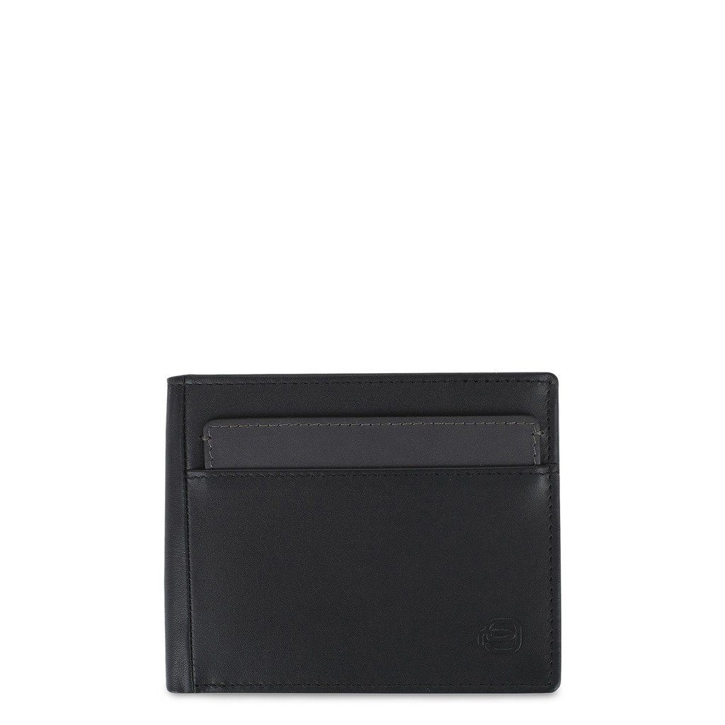Piquadro Men's Wallet Black PU4518W96R - black NOSIZE