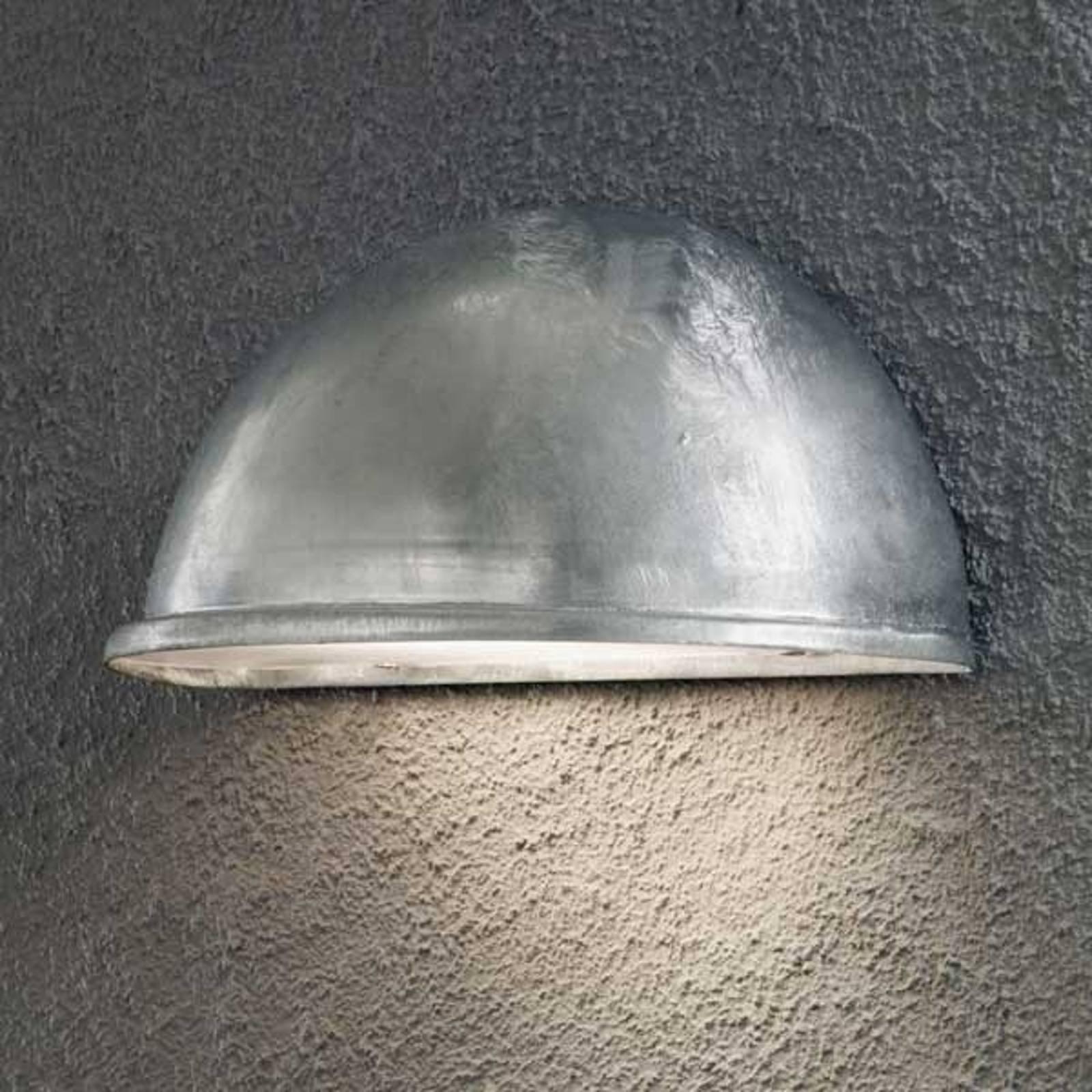 Solid galvanisert utendørs TORINO E27 vegglampe