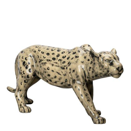 By On - Leopard Skulptur 32x14 cm