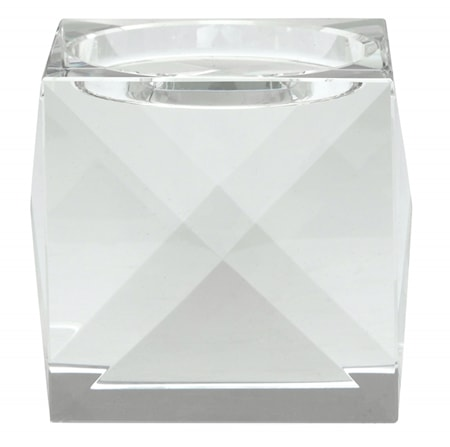 Krystals Ljusstake Klar Glas