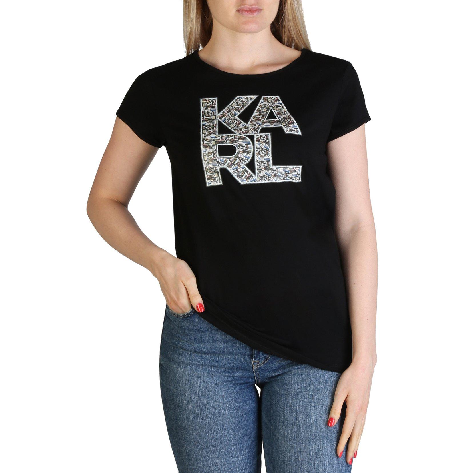 Karl Lagerfeld Women's T-Shirt Various Colours KL21WTS01 - black L