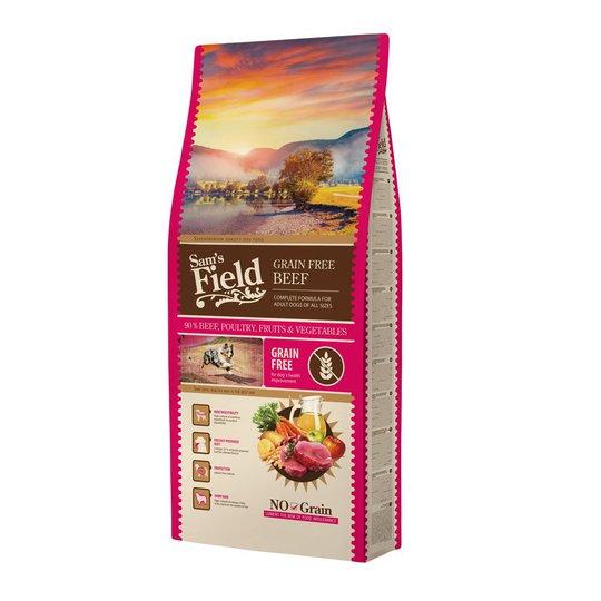 Sam's Field Adult Grain Free Beef (13 kg)