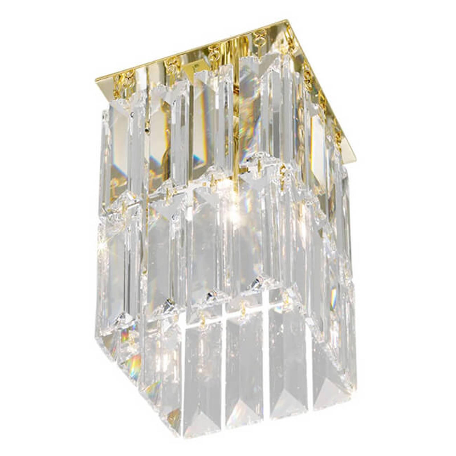 Kultainen PRISMA-kristallikattovalaisin