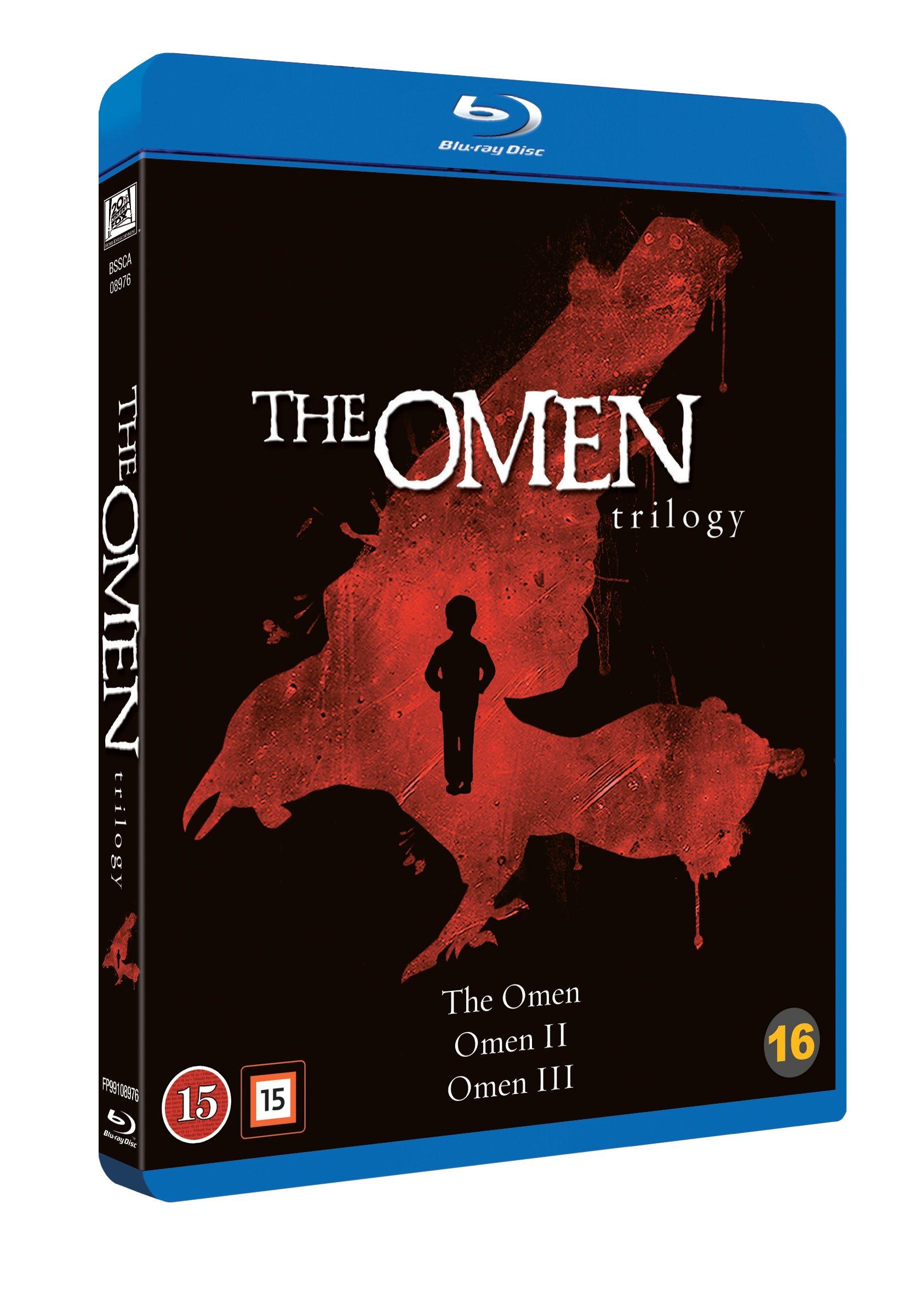 Omen 1 - 3 Boxset (Blu-Ray)