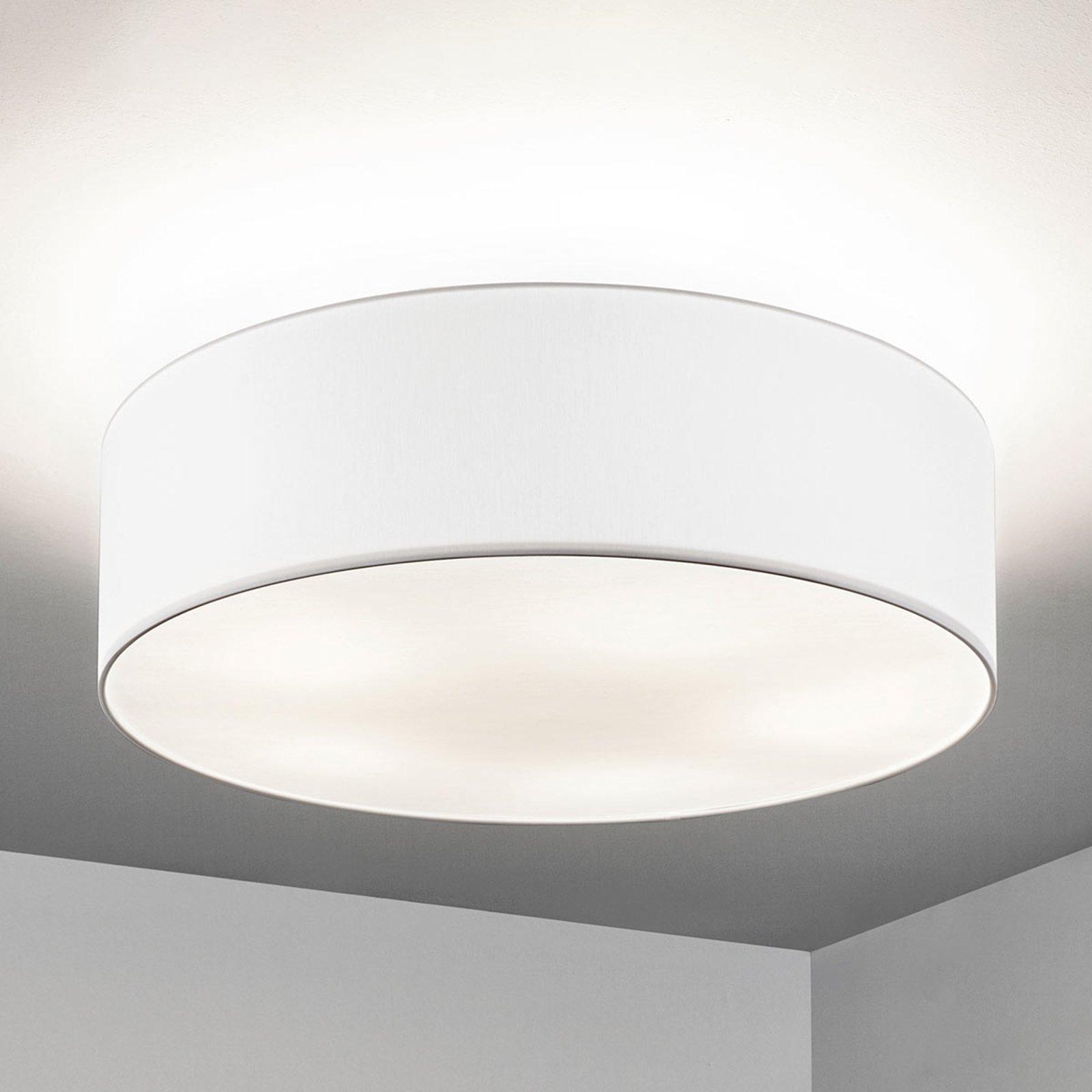 Taklampe Gala, 60 cm, chintz hvit
