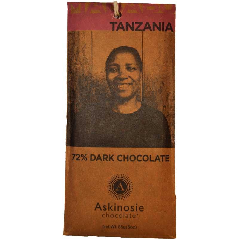 Dark Chocolate 72% Tanzania - 81% rabatt