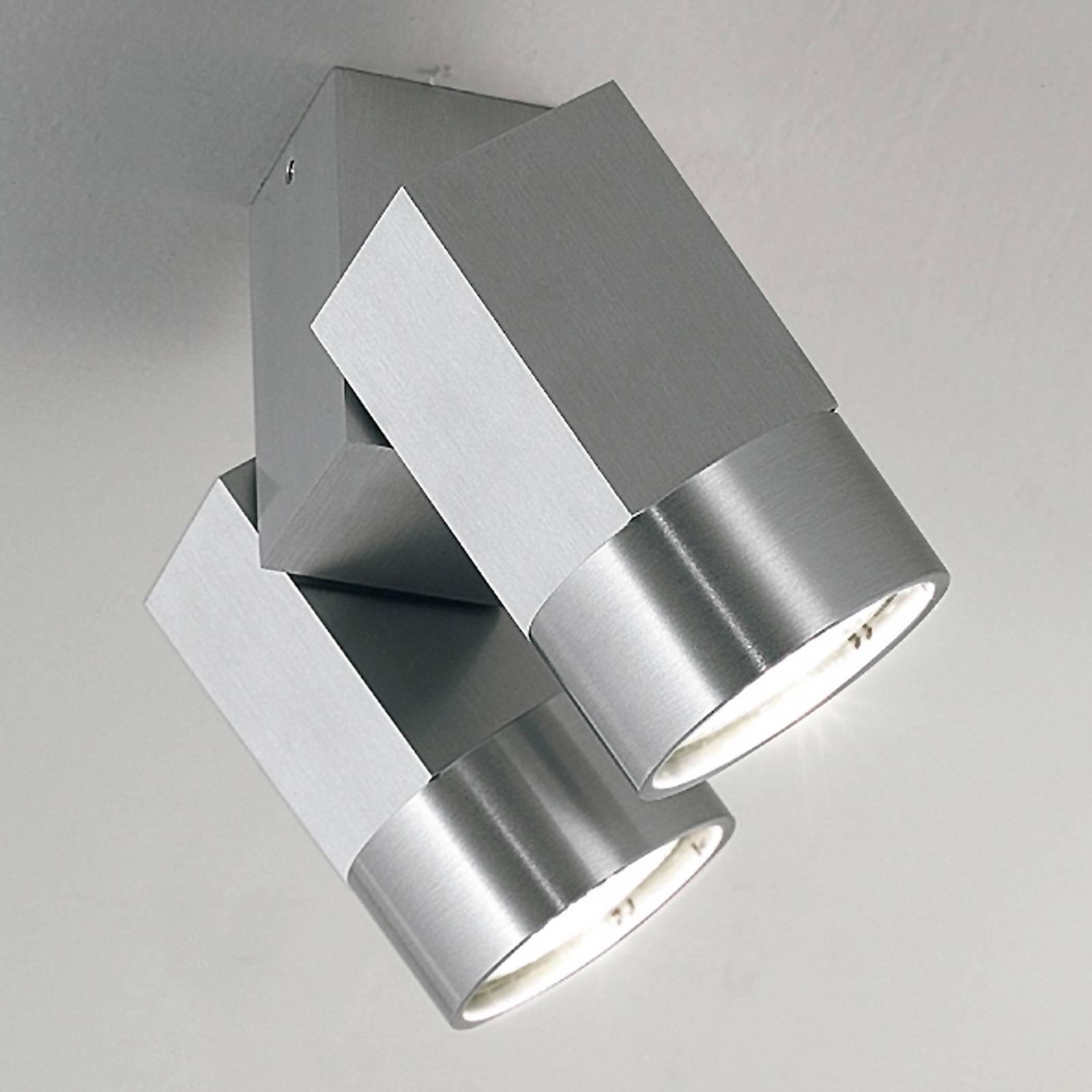 Katto- tai seinäkohdevalaisin STYLE DUO 2-lamp.