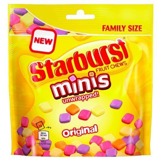 Starburst Minis 196g