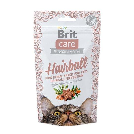 Brit Care Cat Snack Hairboll Duck (50 gram)