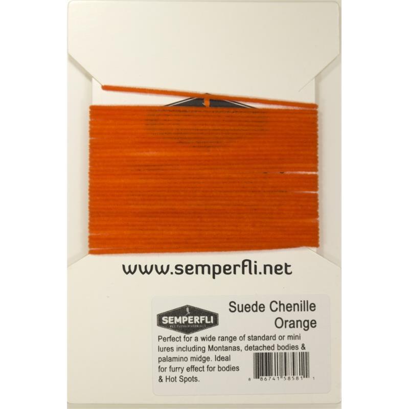 Semperfli Suede Chenille Orange