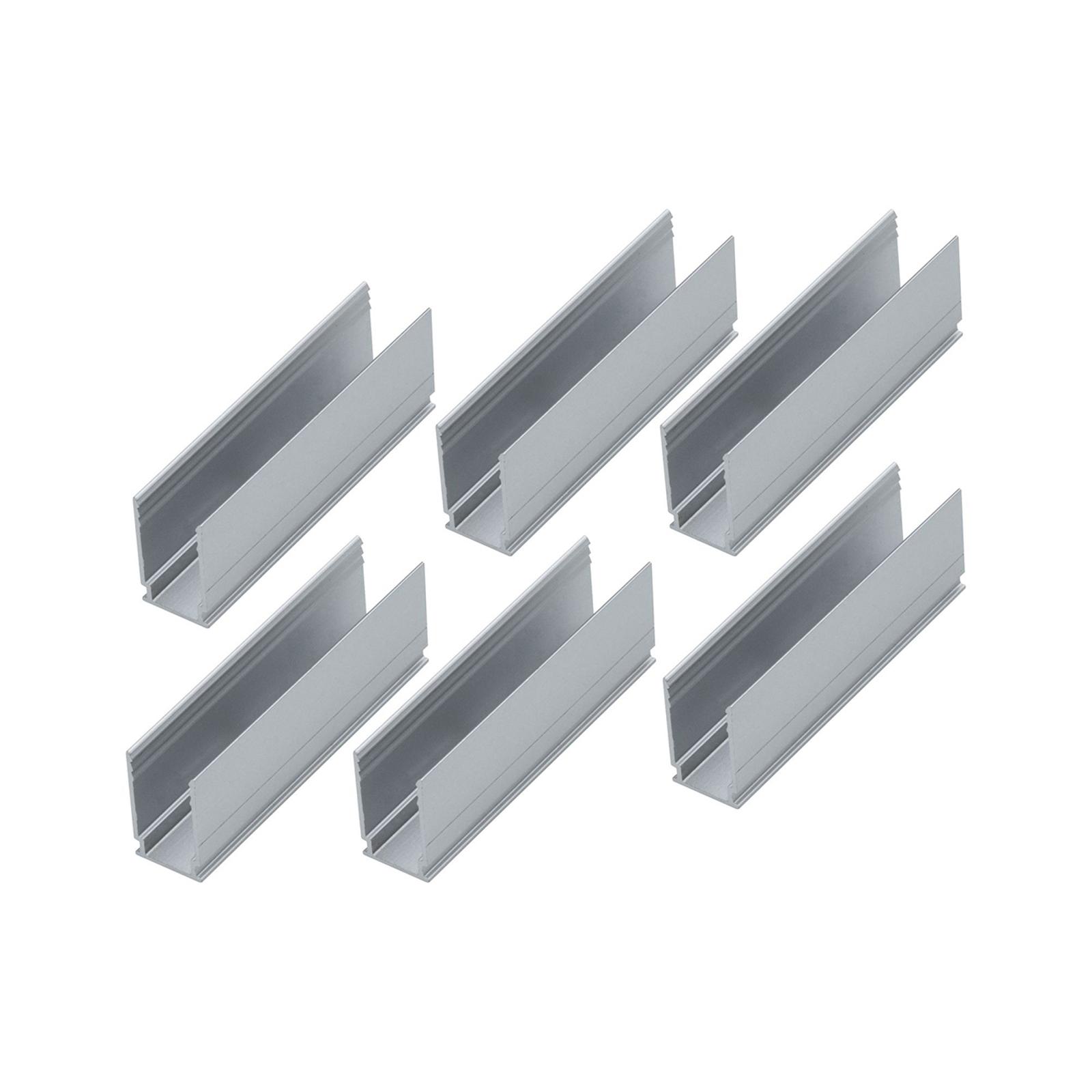 Paulmann 6 klipsiä 94215, Plug & Shine -Neon-nauha