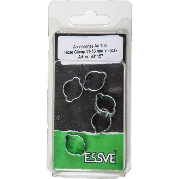 ESSVE 901157 Slangeklemme 11–13 mm, 5-pakning