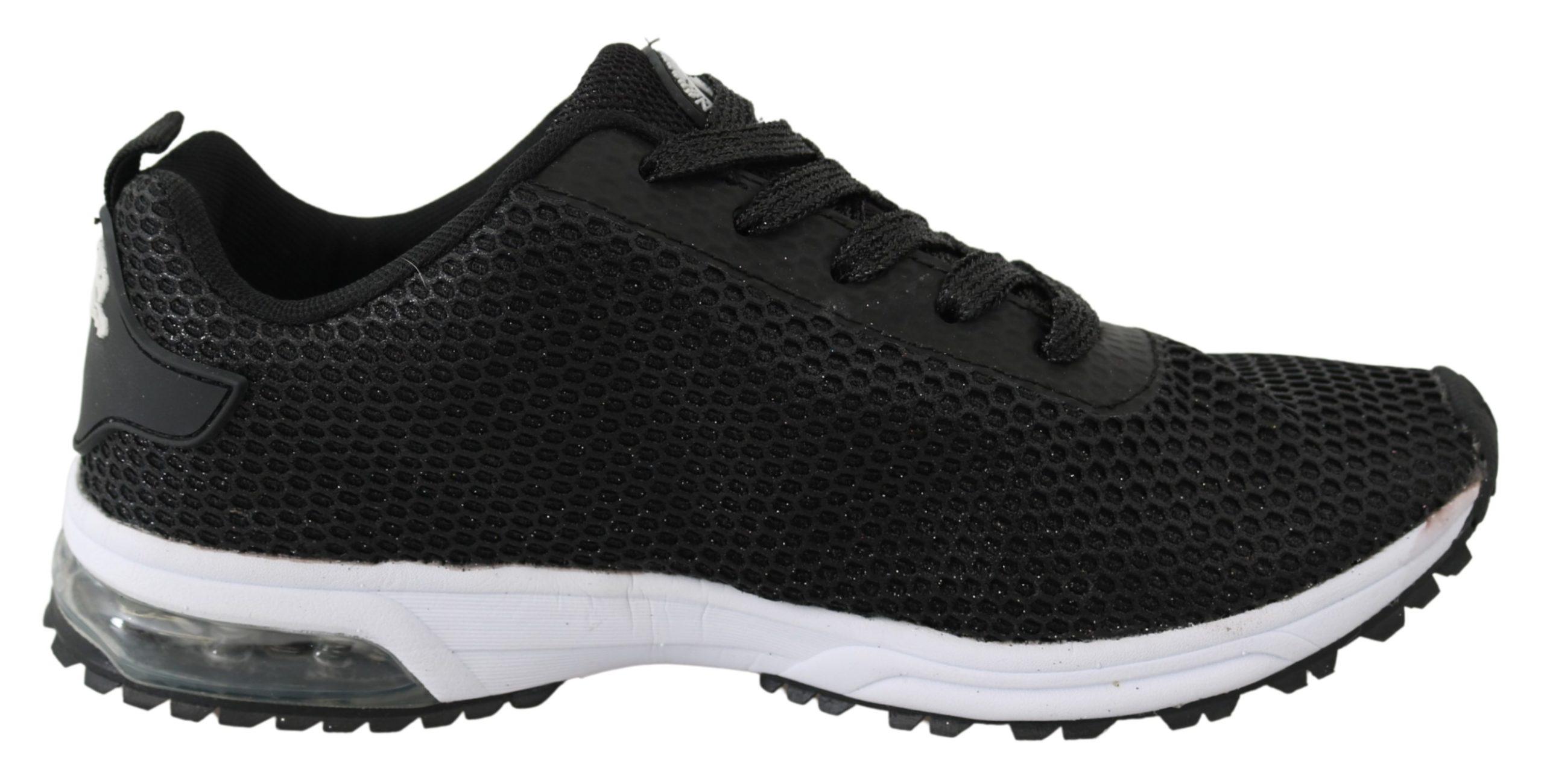 Black Polyester Gretel Sneakers Shoes - EU35/US5