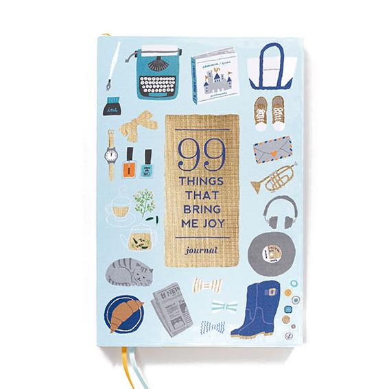99 Things That Bring Me Joy: A Guided Journal