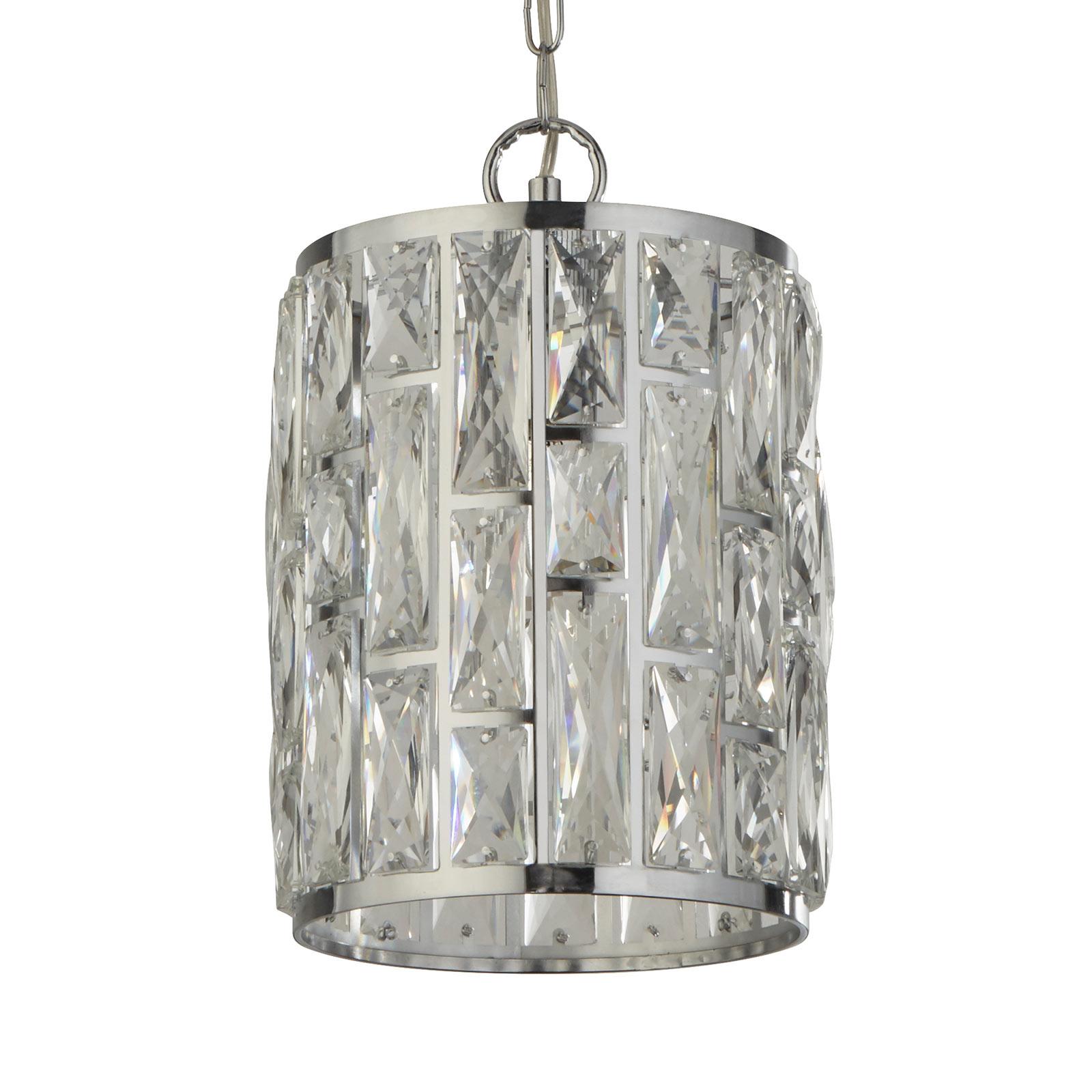 Riippuvalo Bijou, varjostimessa kristalleja, 22 cm