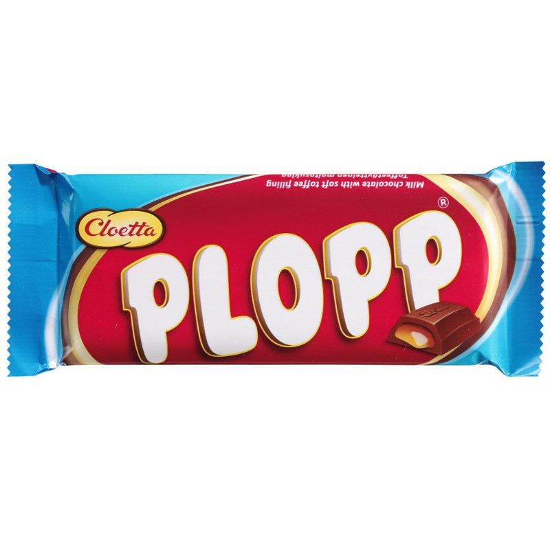 """Godis """"Plopp"""" 80g - 36% rabatt"""