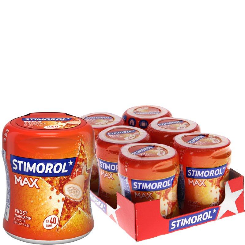 Tuggummi Mandarin 6-pack - 75% rabatt
