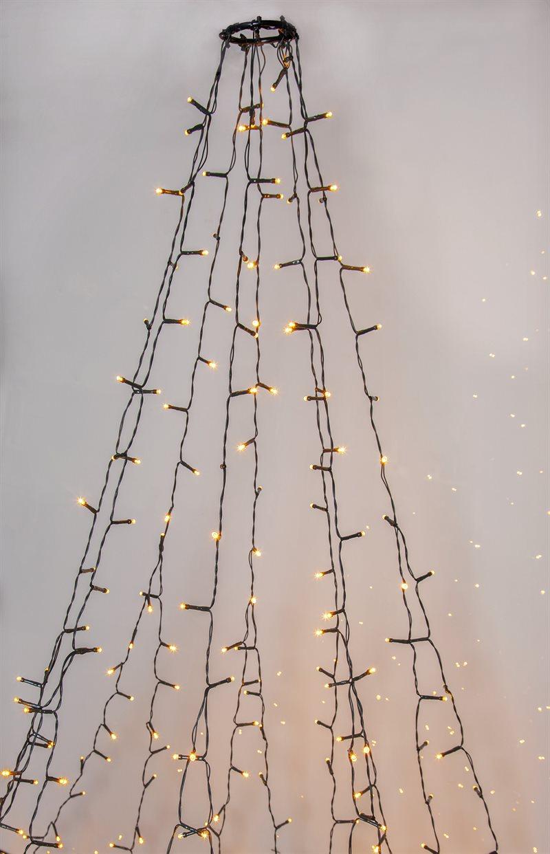 Joulukuusivaloketju Warm White