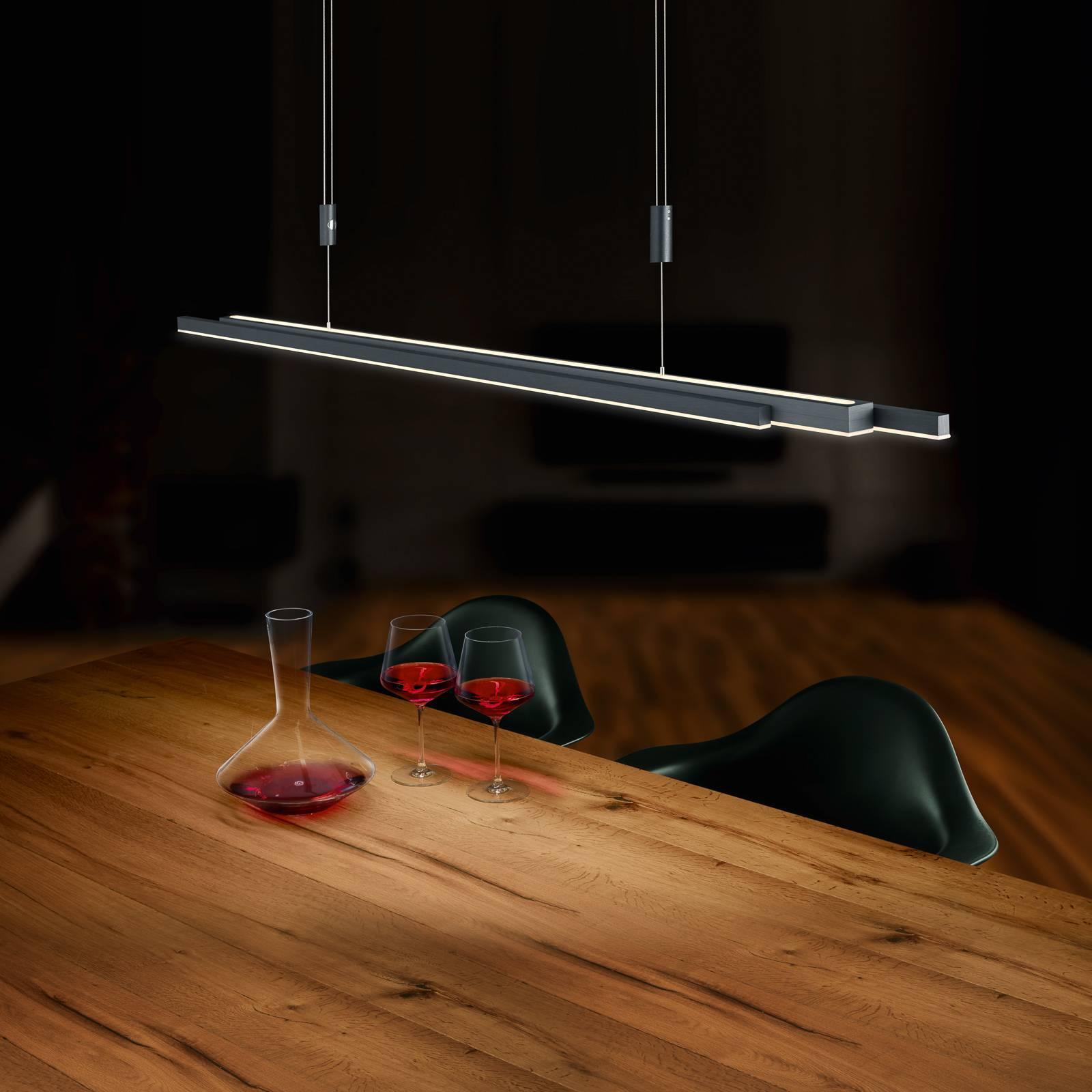 BANKAMP L-lightLINE LED ZigBee up/down antrasiitti
