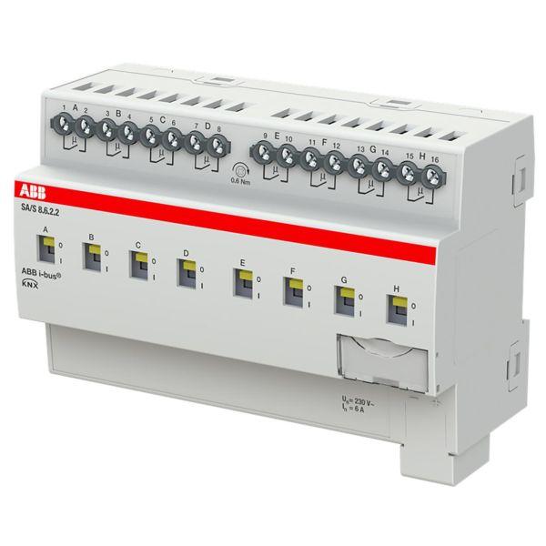 ABB 2CDG110255R0011 Tulo-/lähtöyksikkö KNX, 230 V, 6 A Kytkinliitäntöjen enimmäismäärä: 8