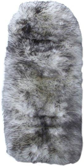 BOZZ Vognpute Lammeskinn langhårete, Grey Mist