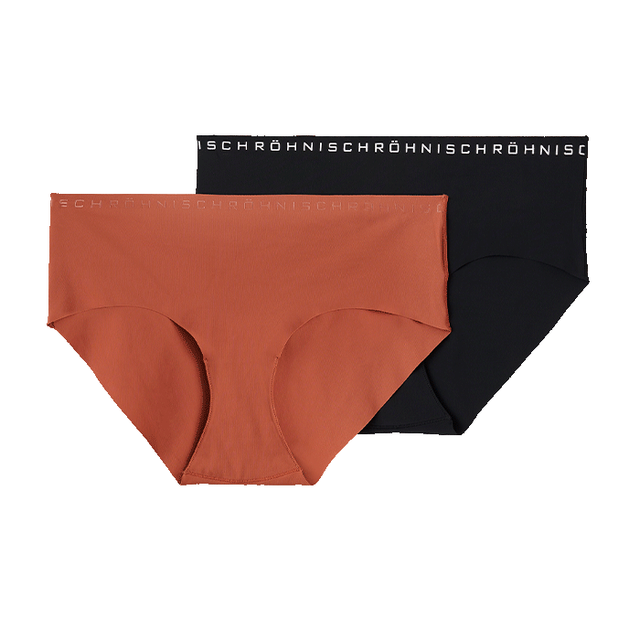 Siena 2-Pack Hipster, Copper Brown