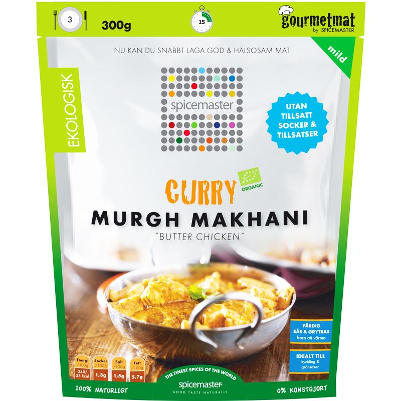 Eko Sås & Grytbas Curry Murgh Makhani Butter Chicken - 34% rabatt