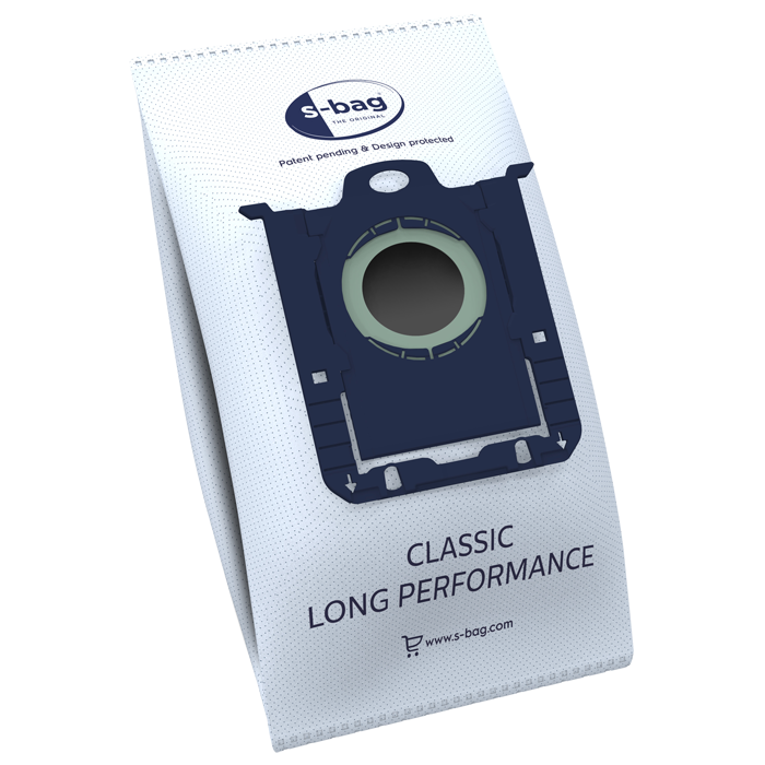 Electrolux - E201SM Classic Long Performance Vacuum Bag - 12 pcs