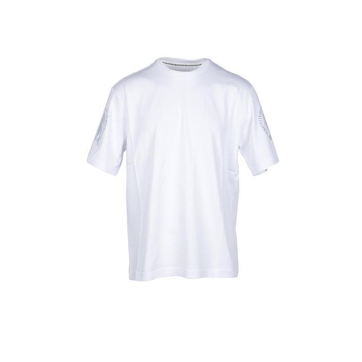 Bikkembergs Men's T-Shirt White 211123 - white M