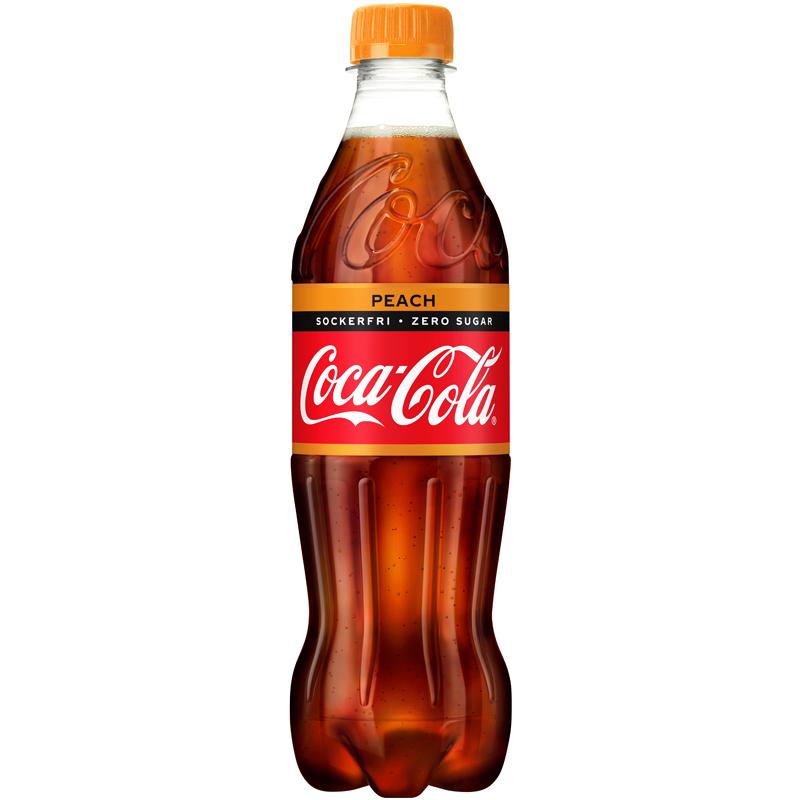 Coca-Cola Zero Persika - 50% rabatt