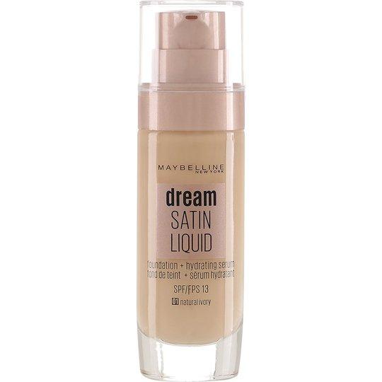 Maybelline New York Dream Satin Liquid Foundation, 30 ml Maybelline Meikkivoide