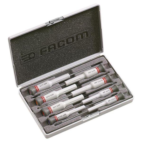 Facom AEF.J6 Ruuvitalttasarja Micro-Tech, 8 osaa
