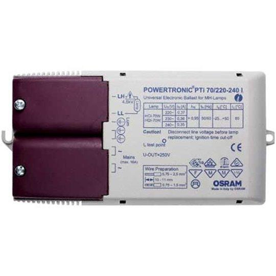 Elektroninen liitäntälaite PTi 70/220-240 I