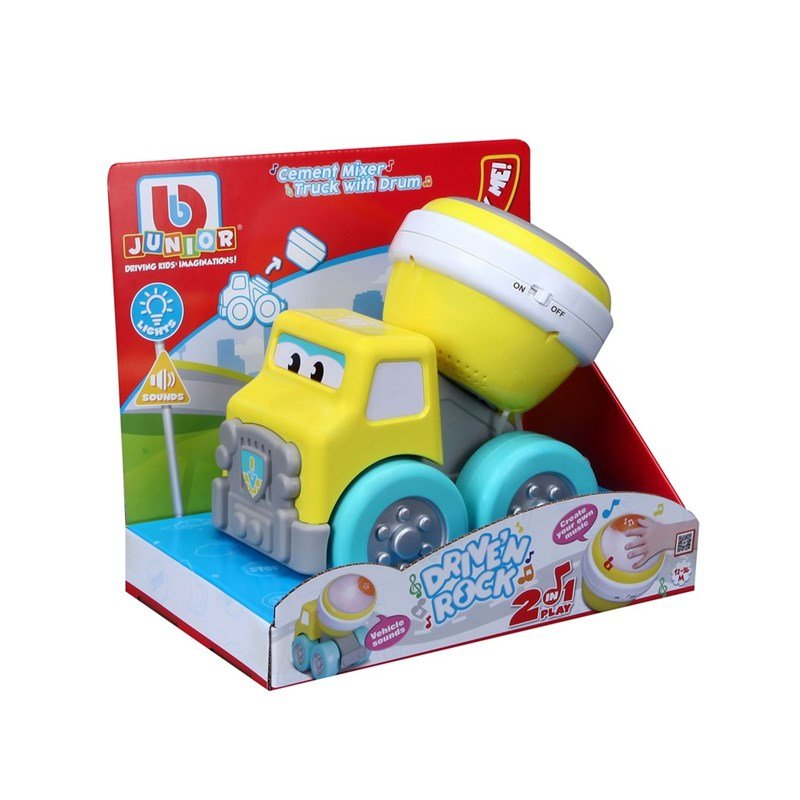 BB Junior - Drive'N Rock Cement mixer truck (1689032)