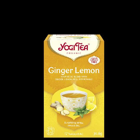 Ginger-Lemon, 17 tepåsar