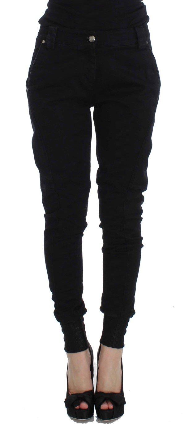 Ermanno Scervino Women's Denim Cotton Trouser Blue SIG32479 - IT42
