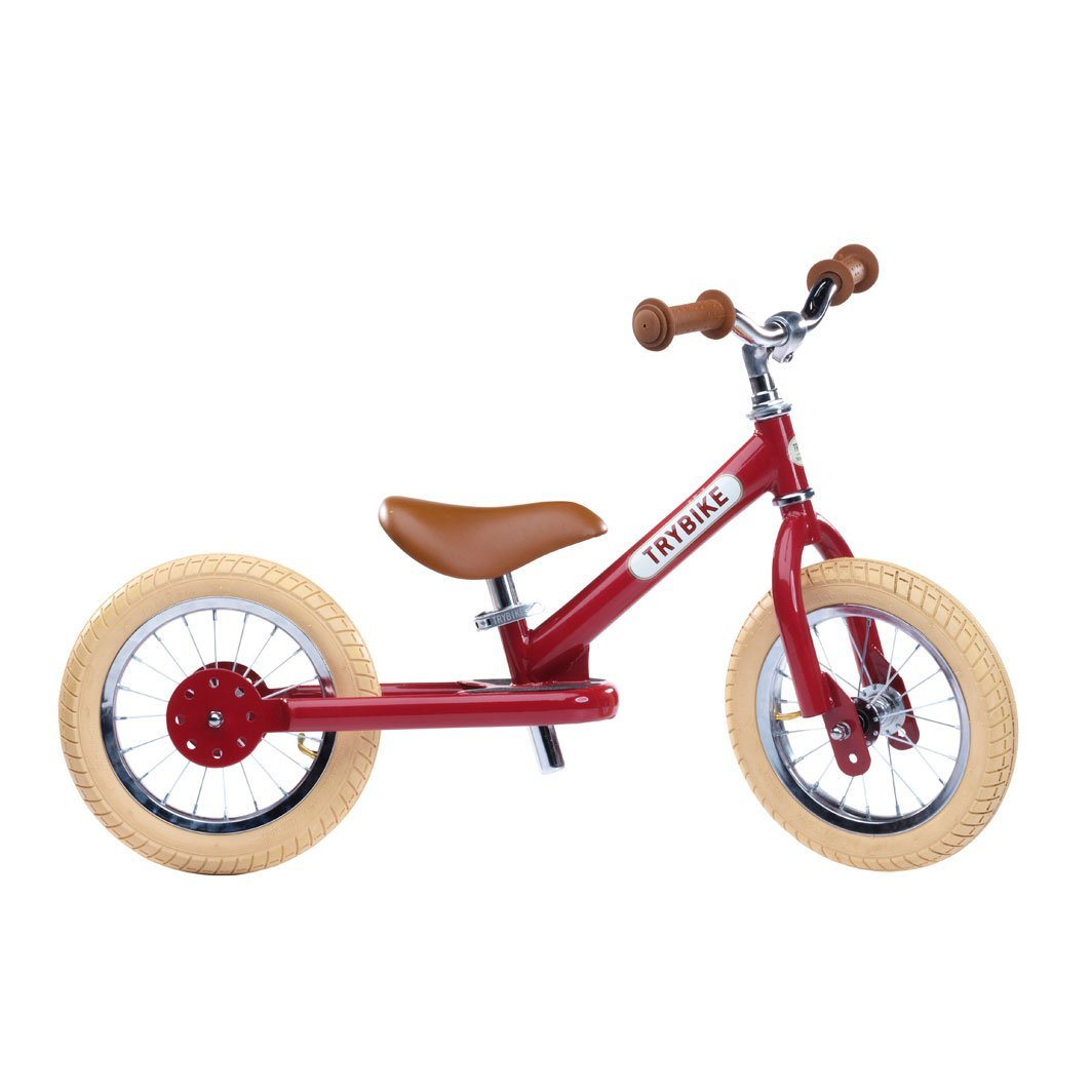 Trybike - 2 Wheel Steel, Vintage red