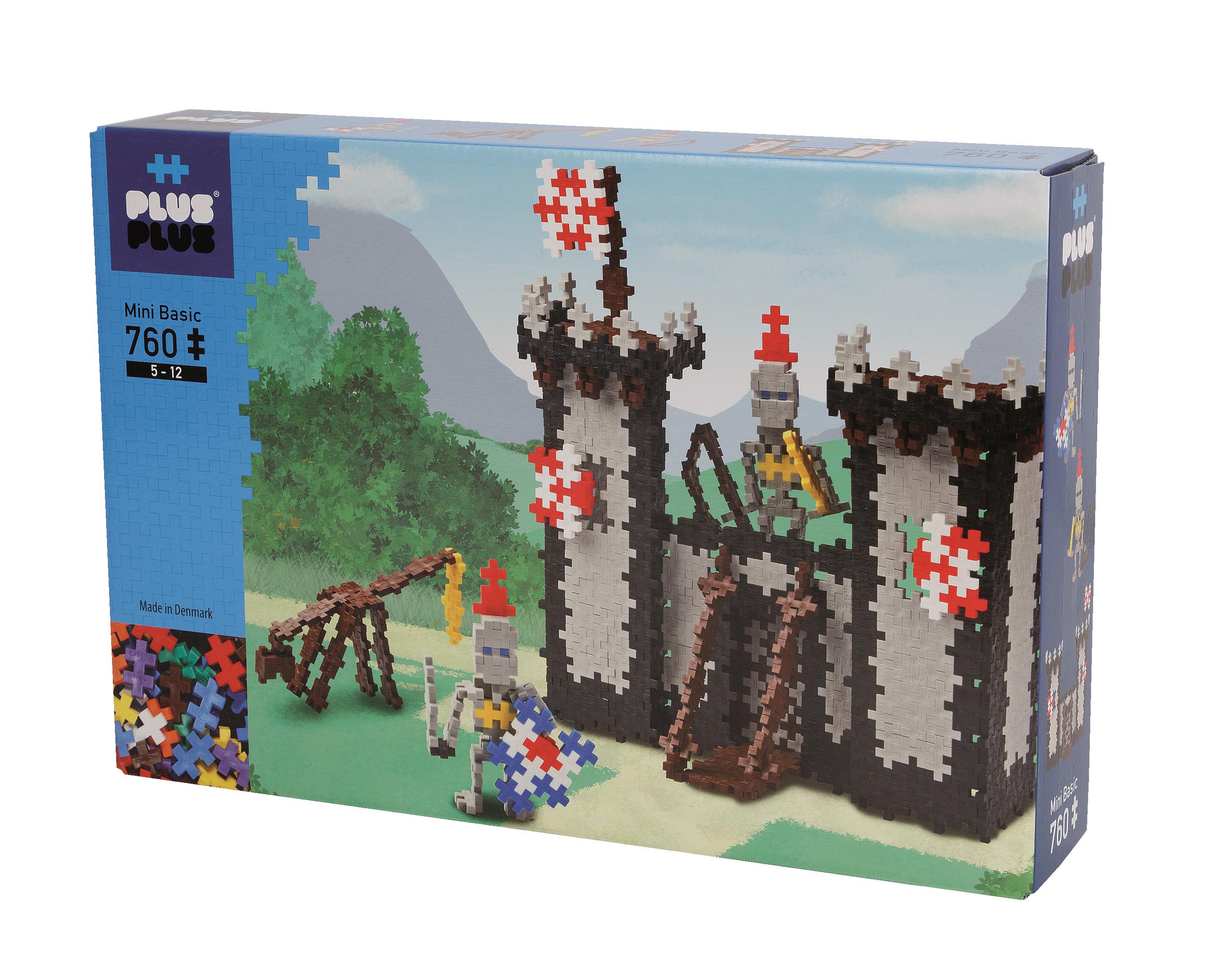 Plus Plus - Mini Basic - Knights Castle, 760 pc (3745)