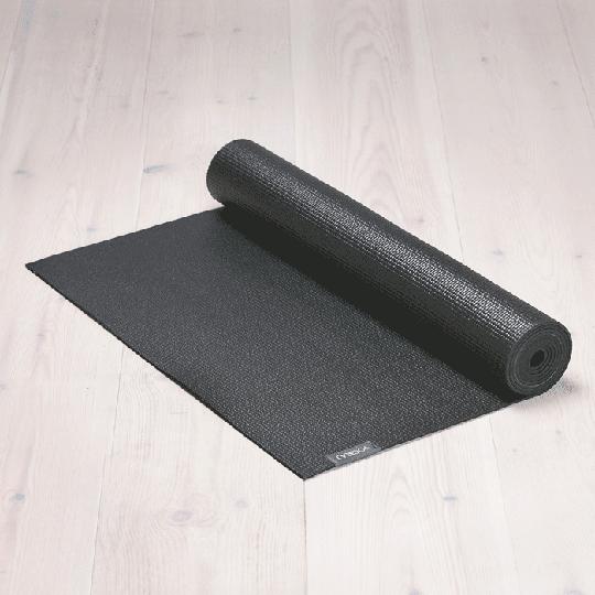 All-round Yoga mat Midnight Black, 6 mm