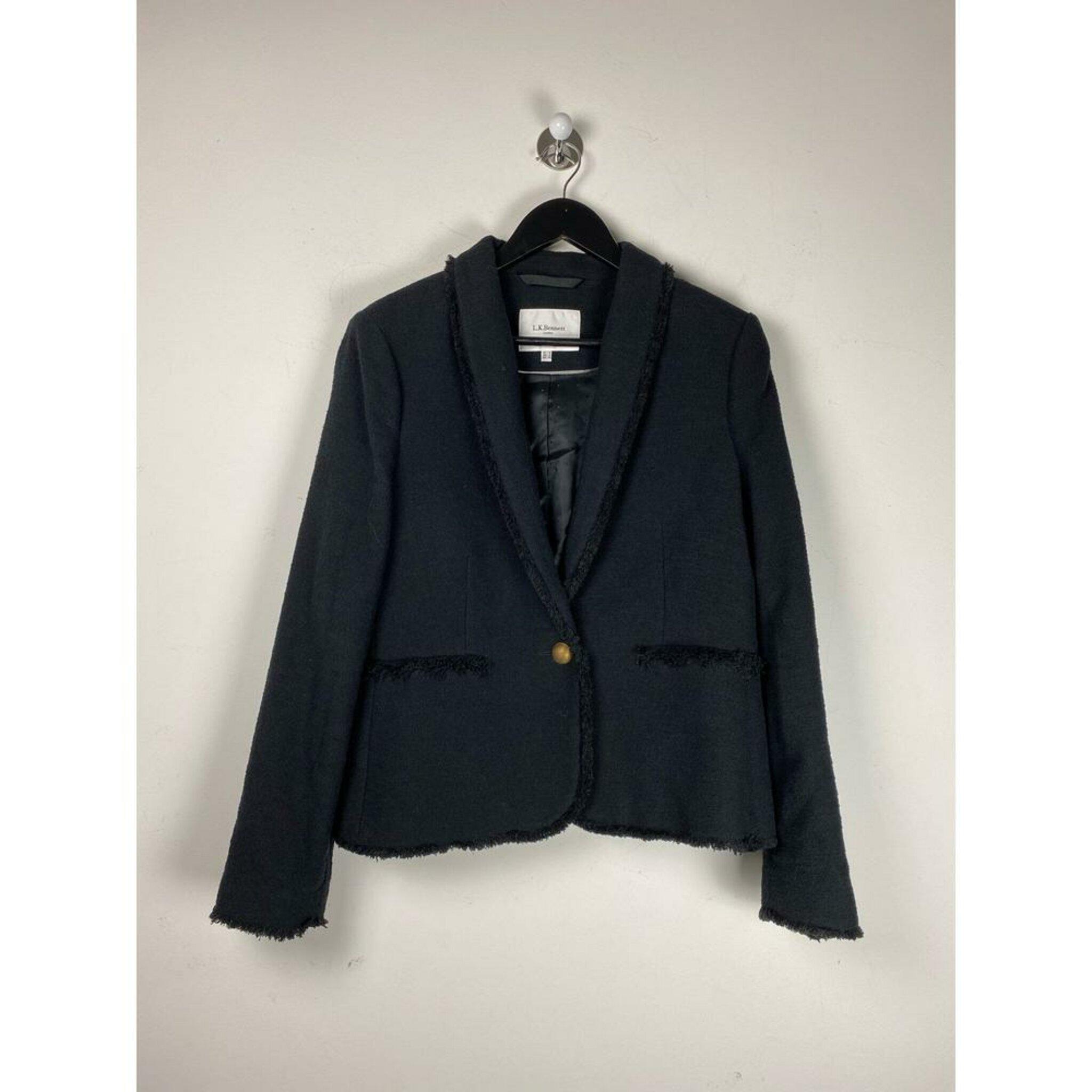 Boucle Jacket by L.K Bennett, 44